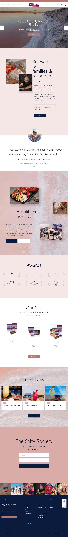Murray River Salt Web Design